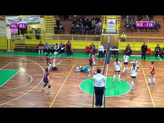Fortitudo Rieti vs S. Michele Firenze - 2° Set