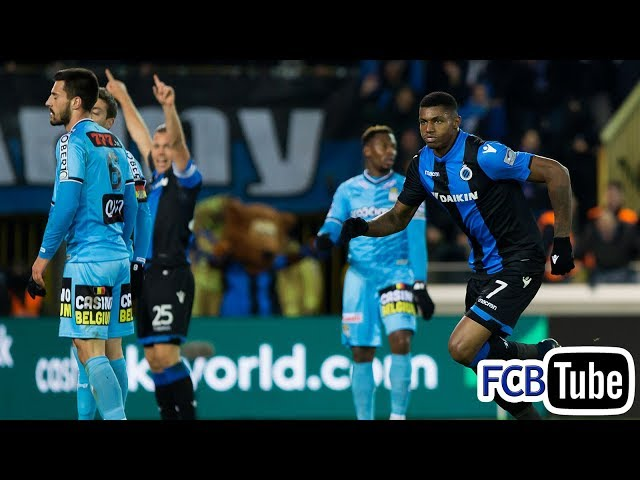 2017-2018 - Jupiler Pro League - 25. Club Brugge - SC Charleroi 3-3