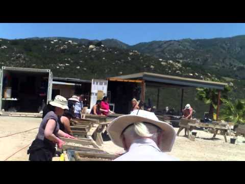 Oceanview Gem Mine Pala, CA May 11, 2014  Kay & Larry