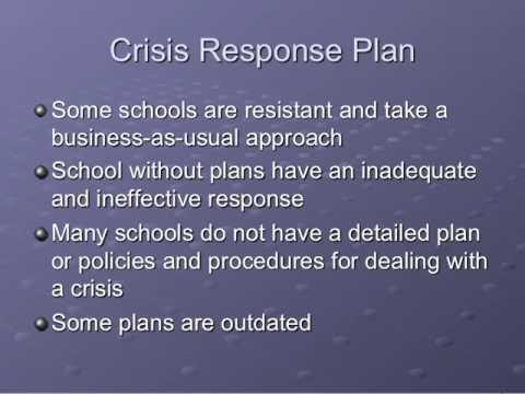 Crisis Management Lecture