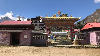 Tengboche And Tengboche Monastery Everest Trek Nepal