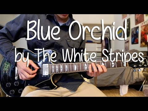 """How To Play """"Blue Orchid"""" By The White Stripes On Guitar (Full Song)"""