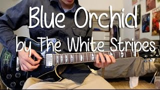 """a quick and easy guitar lesson on how to play """"Blue Orchid"""" by The ..."""