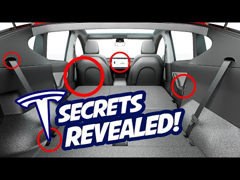 Tesla Model Y SECRETS