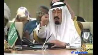 vuclip محاورة بين القذافي و ابو متعب