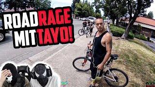 MOTORRAD ROAD RAGE! | Reaction mit Tayo