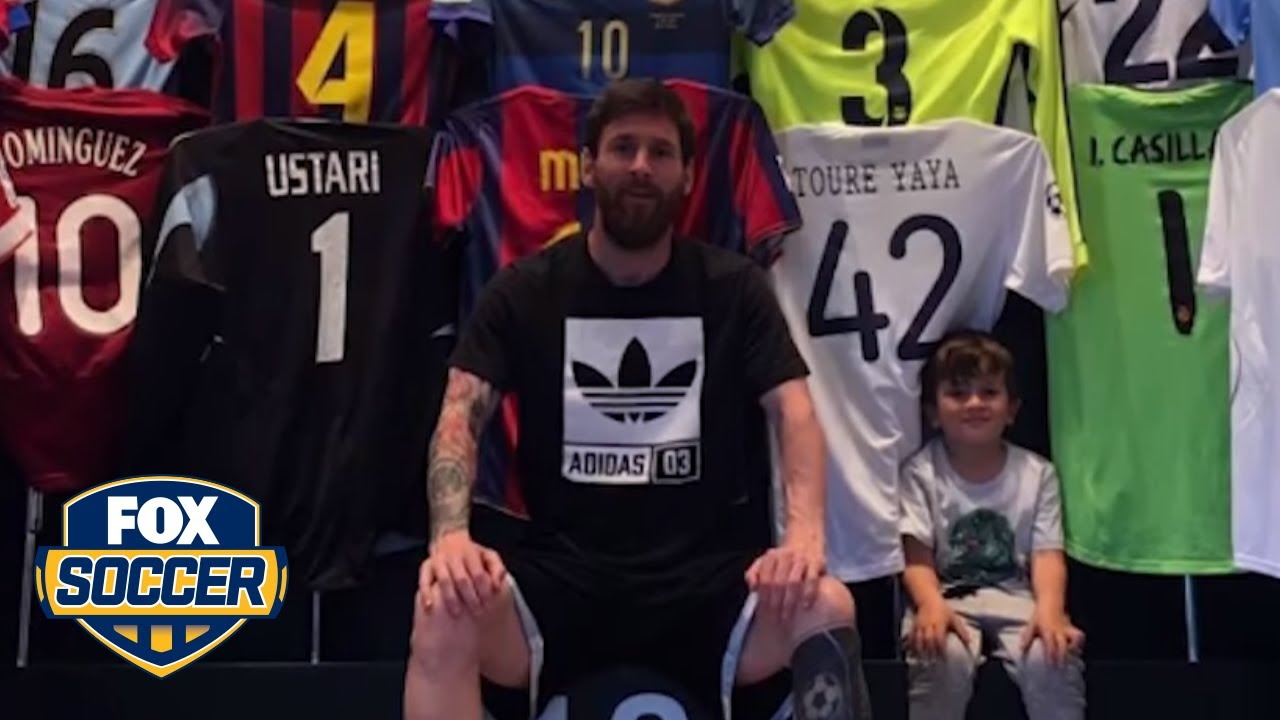 new concept 6725a 5a64b Leo Messi shows off his epic kit closet | FOX SOCCER