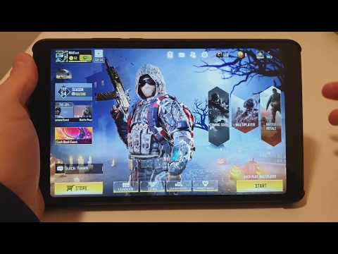 Xiaomi Mi Pad 4 - CALL OF DUTY MOBILE | 60FPS