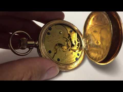 dating a hampden pocket watch