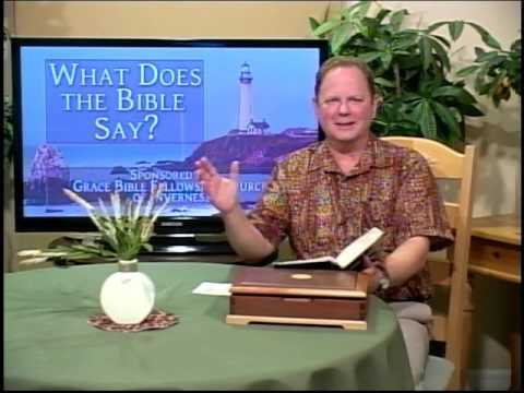 What Does the Bible Say? - Why is the Bible Our Authority?