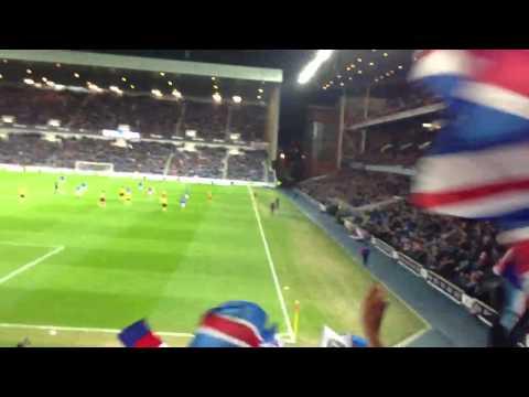 Rangers Song - In Barcelona