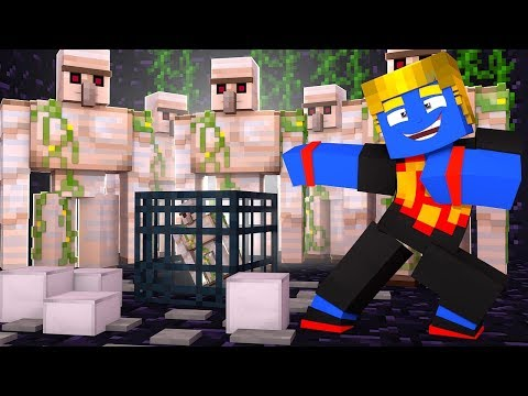 FABRICA DE IRON GOLEM | 18 | Minecraft Nexus Clans