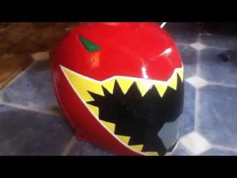 Kyoryuger Red Dino Charge Red Helmet Youtube
