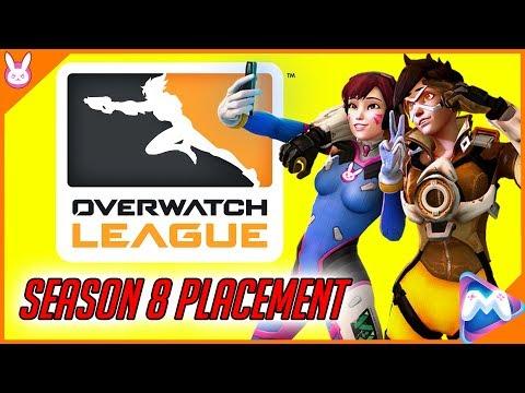 🔴Overwatch | Season 8 Placement | Overwatch League 🔴