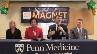 Chester County Hospital Achieves Magnet® Recognition