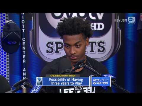 Kajon Brown on BYU Sports Nation