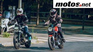 Husqvarna Svartpilen vs Yamaha XSR 2021 | Prueba comparativa 125 / Test / Review | motos.net