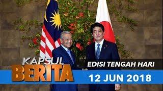 Video KAPSUL BERITA  EDISI TENGAH HARI - 12 JUN 2018 download MP3, 3GP, MP4, WEBM, AVI, FLV Juni 2018