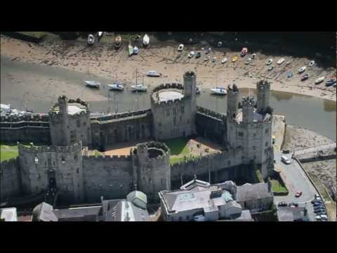 Caernarfon Castle, Wales - Visit Britain - Unravel Travel TV