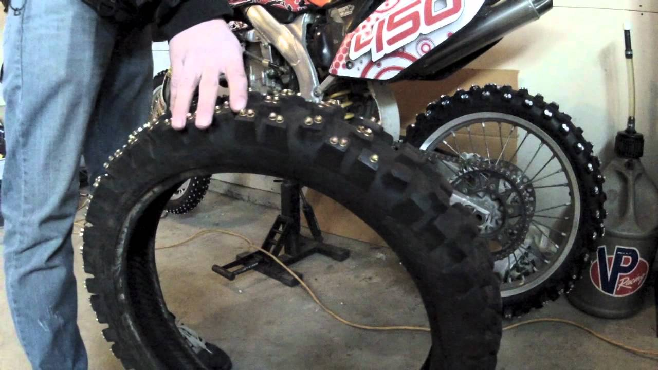 Lighting Basement Washroom Stairs: How To Stud A Motocross Tire