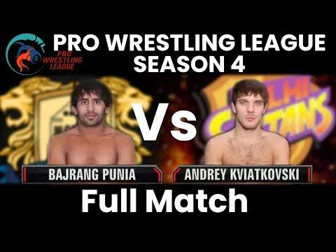 PWL 4 Day 7: Andrey Kviatkovski vs Bajrang Punia | Punjab Royals vs Delhi Sultanz | Full Match
