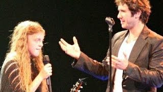 Josh Groban Surprise Duet Shocks 14 year old Audience Member Anastasia Lee