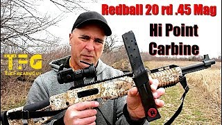 Redball 20 rd .45 ACP mag for the High Point Carbine - TheFireArmGuy