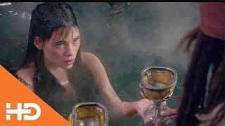 Джек Воробей спасает Анжелику от смерти ✦ Пираты Карибского моря: На странных берегах (2011)