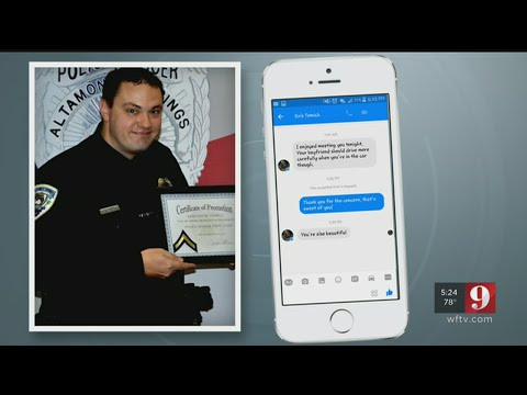 Investigates Altamonte Springs Officer Messaged Girlfriend Of Man He Pulled Over