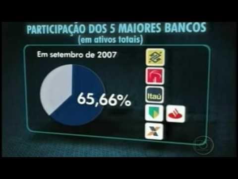 Globo - Fusäo dos bancos Itaú e Unibanco - 03/11/2008