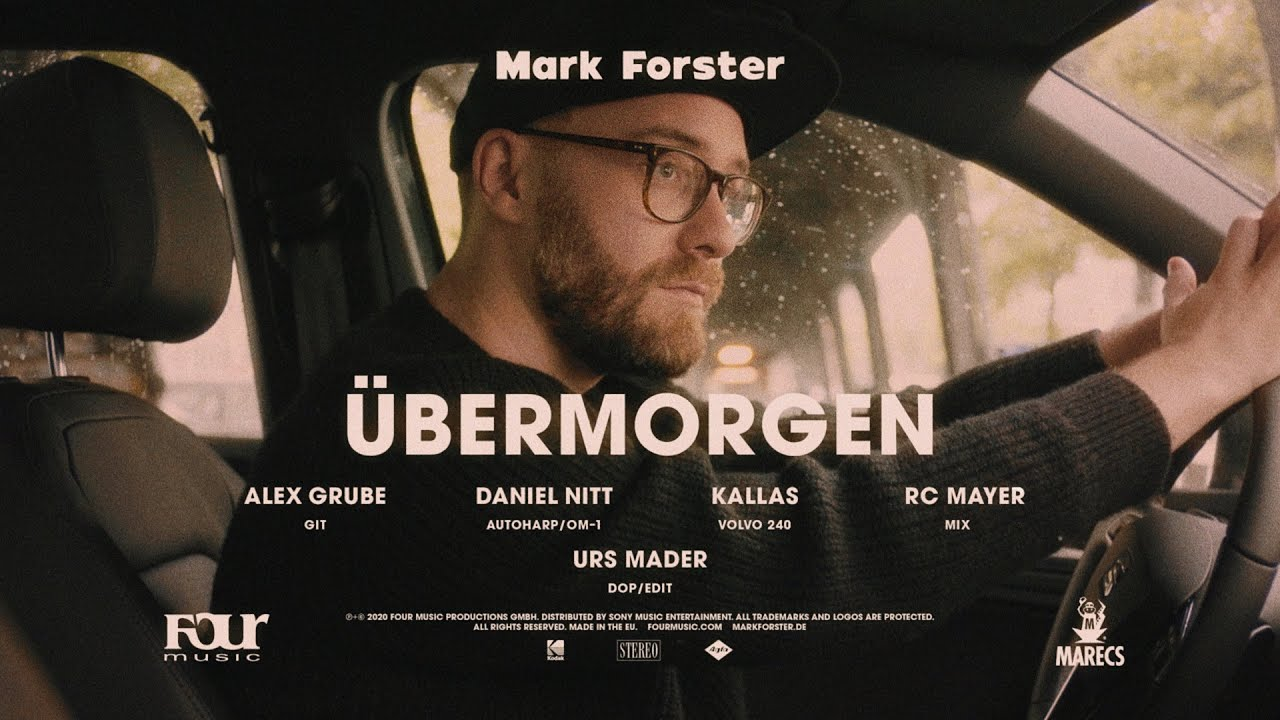 Mark Forster – Übermorgen (Driver's Version)
