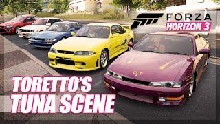 Forza Horizon 3 - The Fast and The Furious Recreation! (Toretto's Team & Tuna Scene)