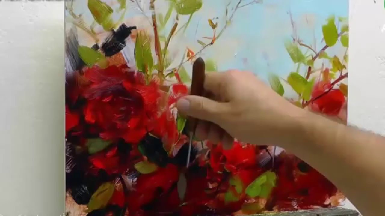 Beautiful Drawings Of Flowers Youtube