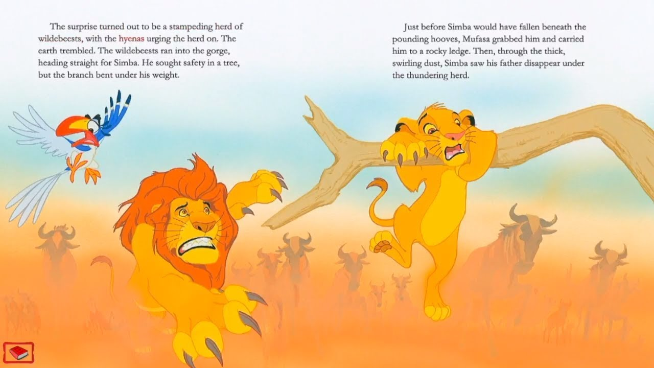 The Lion Kingthe Lion King Bookkids Storybooks