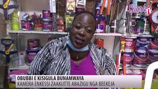 Kamera enkessi zakutte abazigu nga beekeja e Bunamwaya
