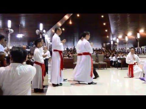Good Friday at St Joseph Cathedral Kuching 2015