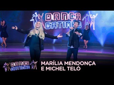 Michel Teló se transforma em Marília Mendonça e Faro interpreta sertanejo no Dança Gatinho