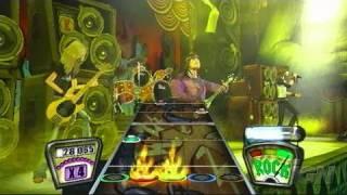 Guitar Hero Encore: Rocks the 80s PlayStation 2 Gameplay -