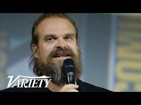 David Harbour On Hopper's Fate in 'Stranger Things'