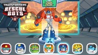 Save the world w/ HEATWAVE!   Transformers Rescue Bots: Disaster Dash Hero Run #115