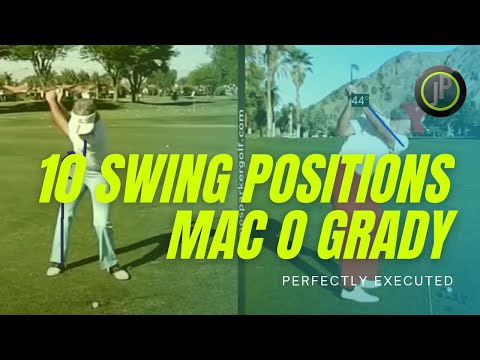 Golf Swing 10 Positions | Mac O Grady