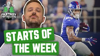 Fantasy Football 2019 - Starts of the Week + Week 2 Breakdown, Smooches! - Ep. #773