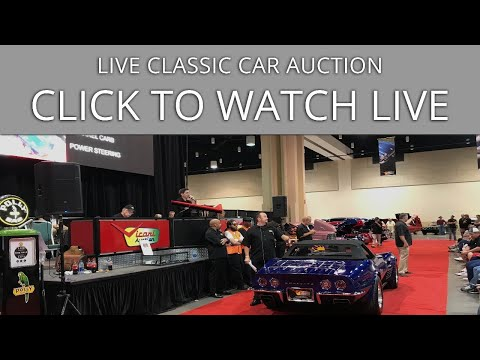 Atlanta, GA 2019 - Friday - Classic Car Auction - Vicari's 2019 Atlanta Auction - Stream