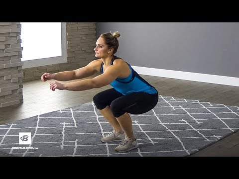 How to Air Squat | Home Body Exercise Guide