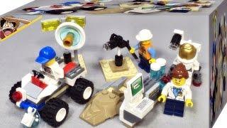 레고 시티 스페이스 스타터 세트 우주인 60077 조립 리뷰 Lego City Space Port Starter Set Toy Block