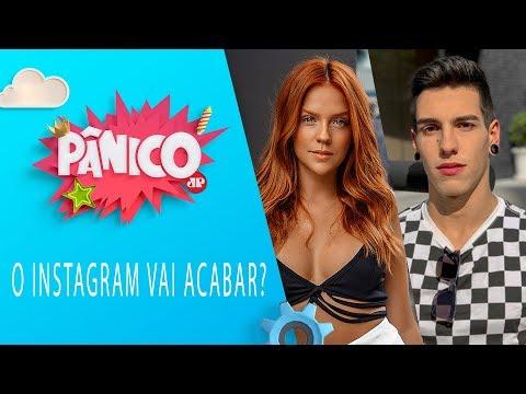 O Instagram vai acabar? Gabi Lopes e Artur (Fofoquei) | Pânico - 19/07/19