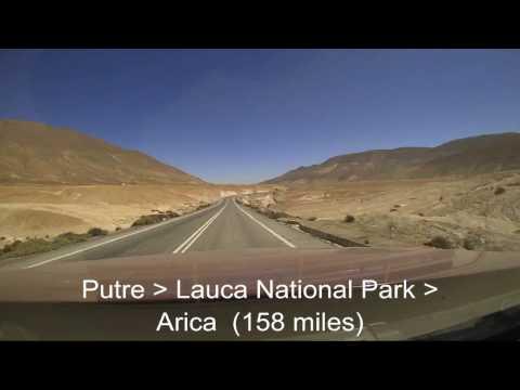 Chile & Peru Road Trip Driving Route April 2017 - Brinno time-lapse drive-lapse