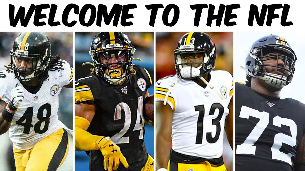 Welcome To The NFL Moment (Bud Dupree, Benny Snell, James Washington, Zach Banner)