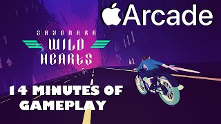 Sayonara Wild Hearts 14 Minutes of Gameplay on Apple Arcade