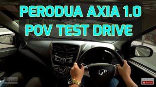 (2018 VID) Malaysia Perodua Axia 1.0l POV Test Drive Sight & Sounds #peroduaaxia #peroduamalaysia
